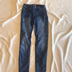 Girl's Justice  destructed jeggings